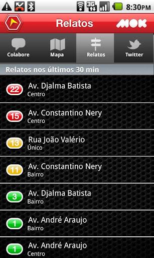 【免費交通運輸App】Trânsito Manaus-APP點子