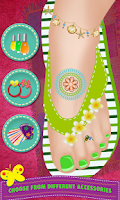 Screenshot of Toe Nail Spa