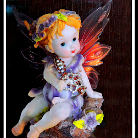 Little Angel  by Soma Chakraborty - Artistic Objects Toys