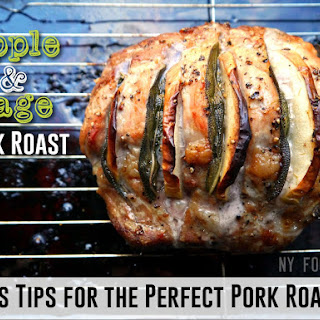 Apple and Sage Stuffed Pork Roast & Tips for the Perfect Roast Pork!