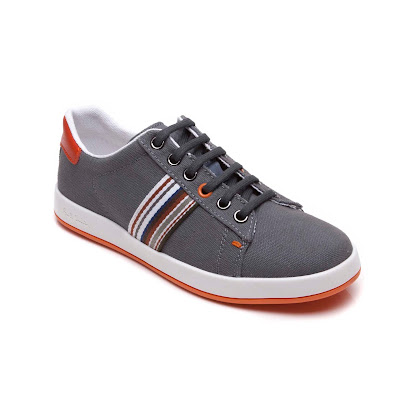 Paul Smith Junior Branded Stripe Trainers LACE UP