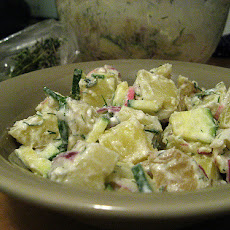 Salsa Verde Potato Salad