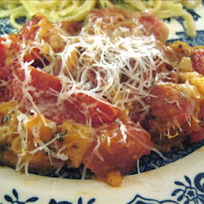 Scalloped Tomatoes With Parmesan