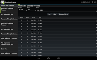 Screenshot of Fit XT Pro (90Droid)