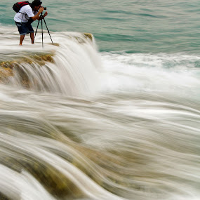 danger ahead by Rodrigo Layug - Landscapes Waterscapes ( nature, seascape )