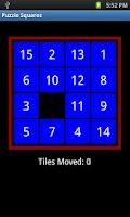 Screenshot of Puzzle Squares