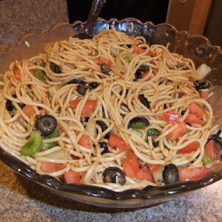 Tomato Red Onion Green Olive Salad Recipes
