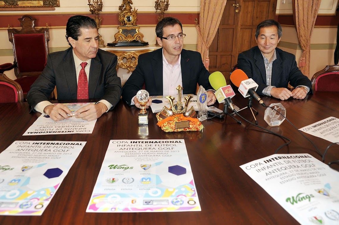 The 1st International Children's Football Cup, which will take place 27 March in Antequera, is presented