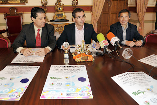 Submitted holding R Cup Football International Children Antequera Golf to be held on March 27 in Antequera