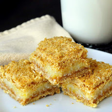 Lemon Graham Crumble Bars