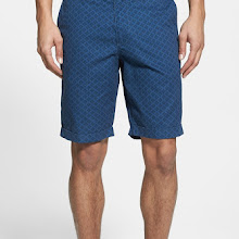 Original Penguin Foulard Print Shorts