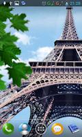 Screenshot of Eiffel tower