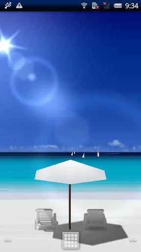 夏季海灘即時壁紙