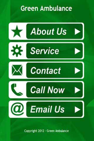 Green Ambulance