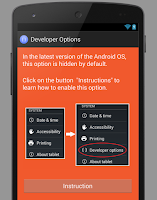 Screenshot of Developer Options