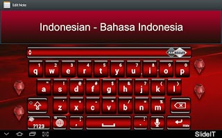 Screenshot of SlideIT Indonesian Pack
