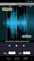 Screenshot of MP3 Ringtone & Cutter