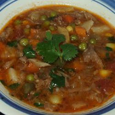 Spicy Vegetable Beef Soup
