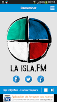 Screenshot of laisla.fm