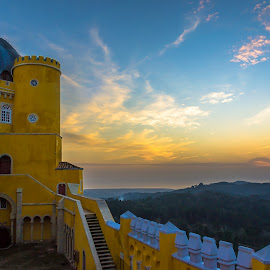 Palace of Pena, Sintra Portugal by Stan Petru - Buildings & Architecture Public & Historical ( portugalia, sintra, travel locations )