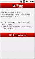 Screenshot of tvOneNews Video