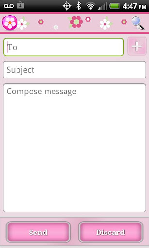 Pink Theme for Facebook - screenshot