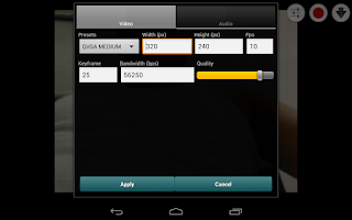 Screenshot of Broadcaster for Android