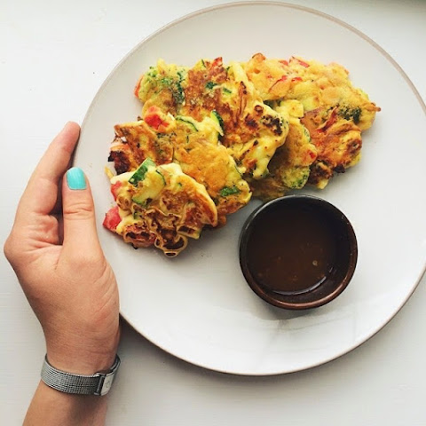 Chickpea Flour and Veggie Fritters