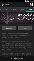 Screenshot of Calvary Chapel Tri-Cities