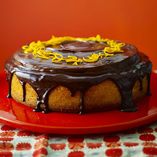 Giant Jaffa Orange Cake