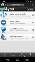 Screenshot of Aptitude Test Preparation