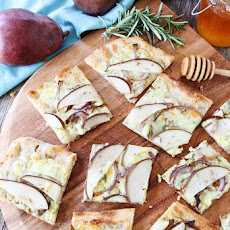Pear and Blue Cheese Flatbread