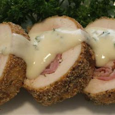 Easy Baked Chicken Cordon Bleu