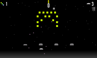 Screenshot of Dead Pixel Invaders
