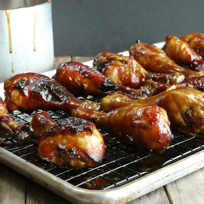 Brined and Glazed Hoisin Chicken