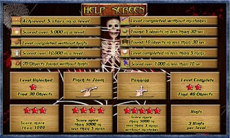 Screenshot of Scary Trail Free Hidden Object