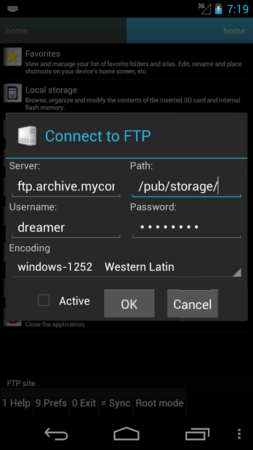 Ghost Commander File Manager Screenshot 2