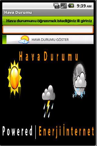 Hava Durumu Weather