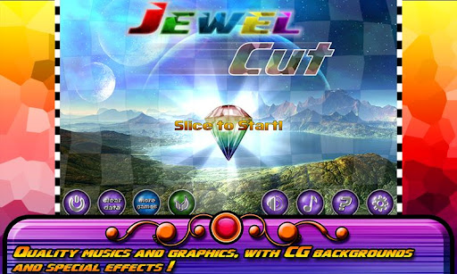 jewel-cut-ninja for android screenshot