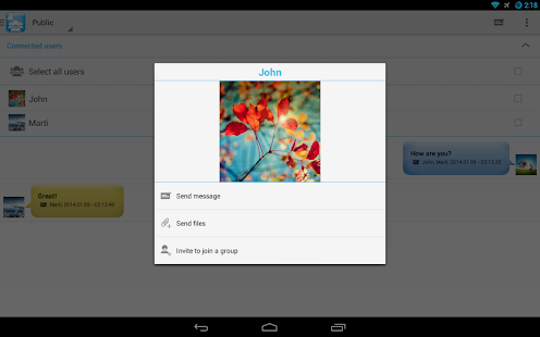 Download WiFi Chat & File share Groups APK to PC ...