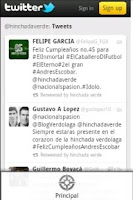 Screenshot of Hinchada Atletico Nacional