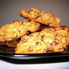 Oaty Apple and Cranberry Cookies