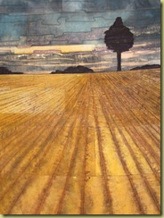 Stitch to Paint - Ploughed Field