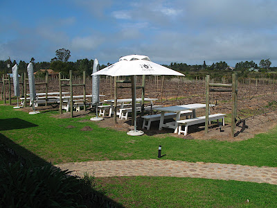Tables Between the Vines at Bramon