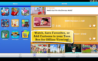 Screenshot of Toon Goggles for Sony