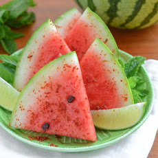 Watermelon with Chile, Salt & Lime