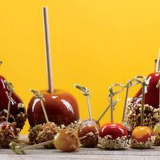 Paprika Candied Apples with Cashews