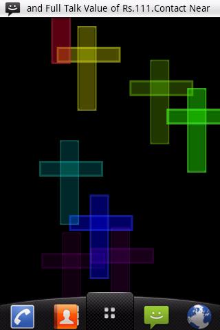 Digital Cross Live Wallpaper