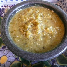 Mexican Take-Out Tomatillo Salsa