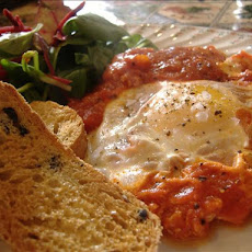 Tasty Tomato Fried Eggs